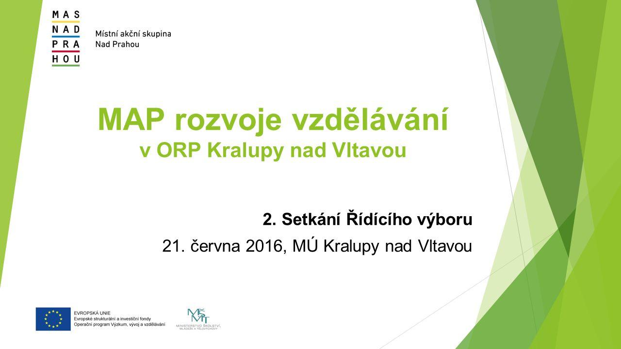 MAP rozvoje vzdělávání v ORP Kralupy nad Vltavou 2.