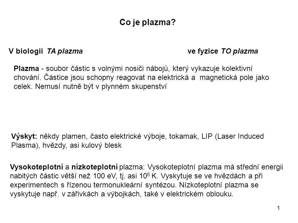 1 Co je plazma.