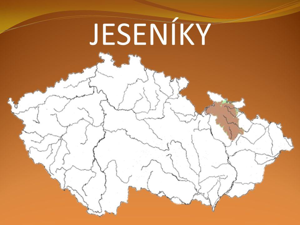 Lužické hory Český les Krkonoše jeseníky