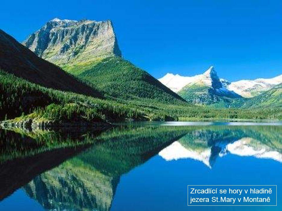 Jezero Patricia v Jasperu v Albertě