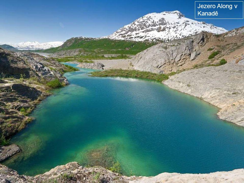 Jezero McDonalld v Montaně