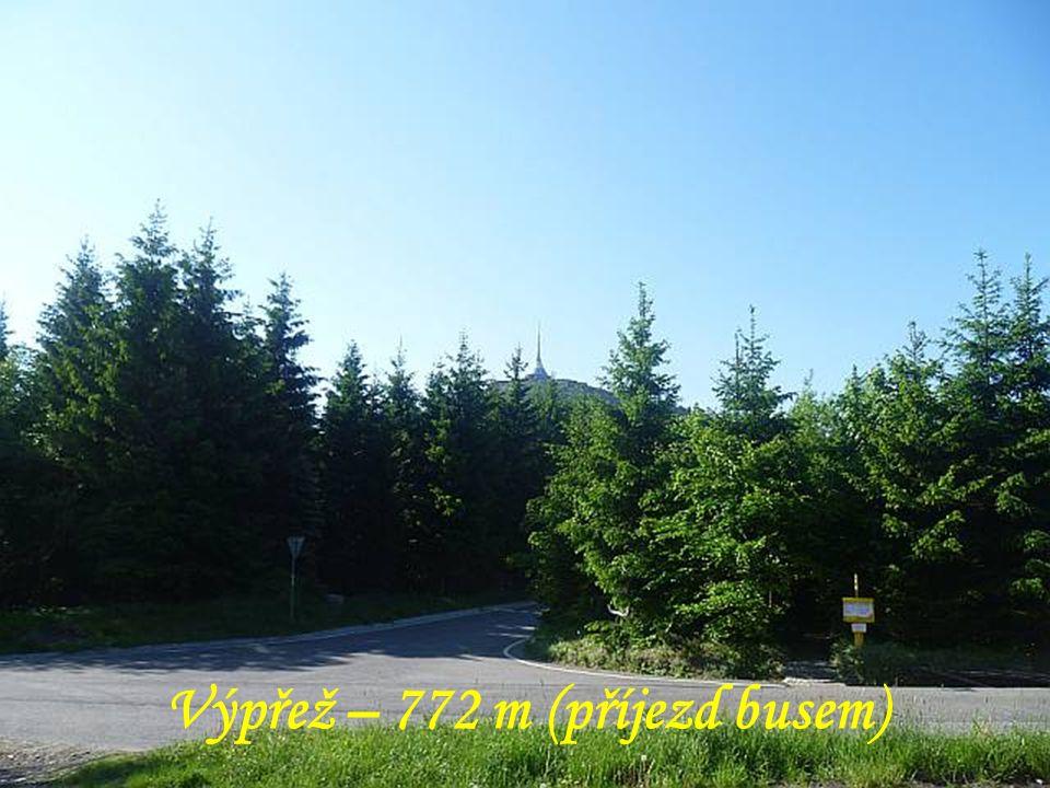 Výpřež – 772 m (příjezd busem)