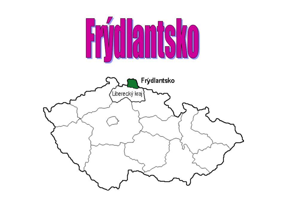 Charakteristika Frýdlantsko se nachází v nejsevernější části České republiky, příznačně nazvané Frýdlantský výběžek.