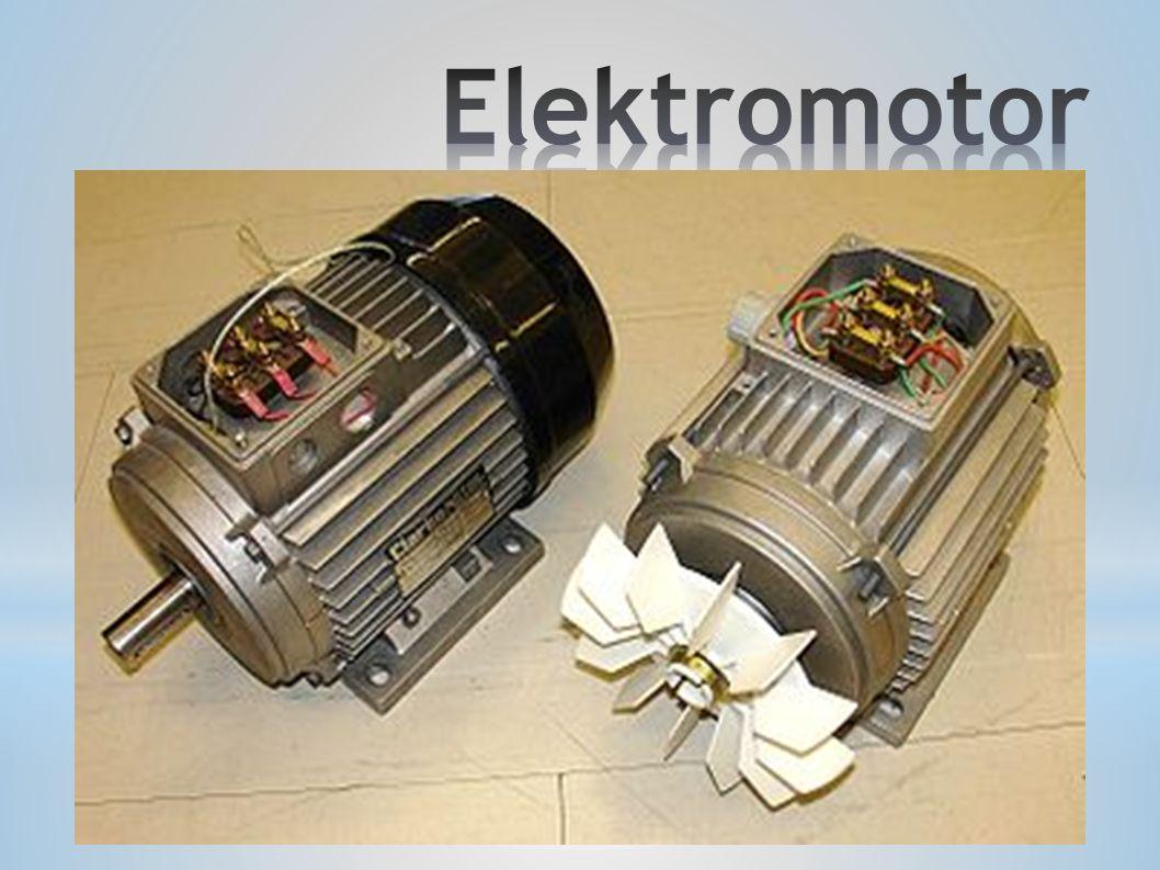 Elektromotor je elektrický stroj, který slouží k přeměně elektrické energie na mechanickou práci, případně ho lze použít i naopak.