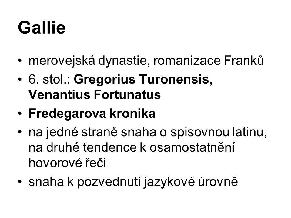 Gallie merovejská dynastie, romanizace Franků 6.