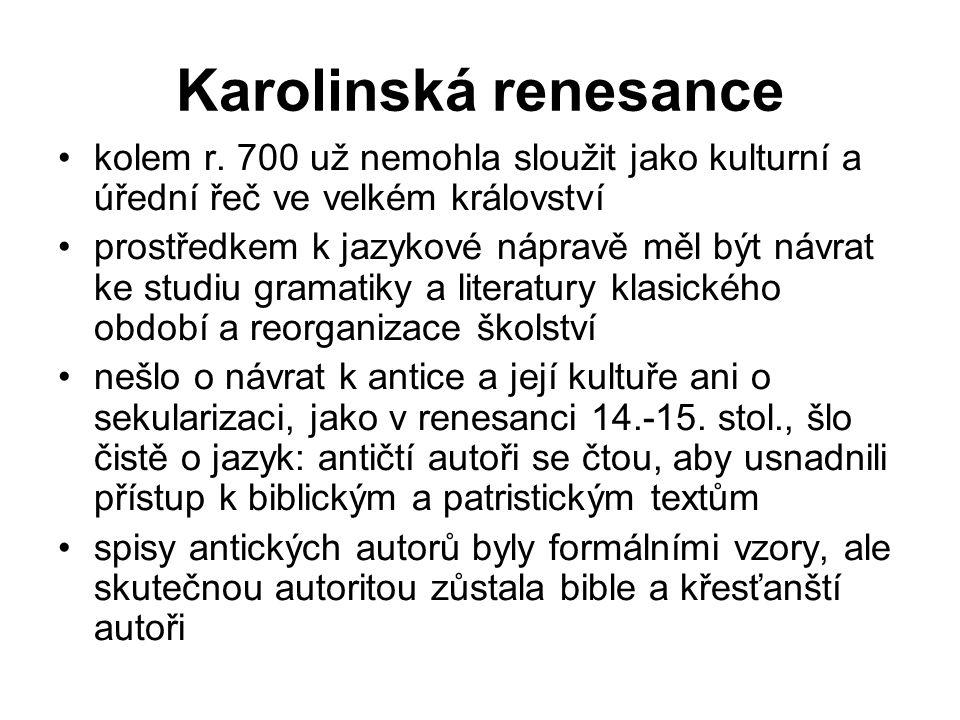 Karolinská renesance kolem r.