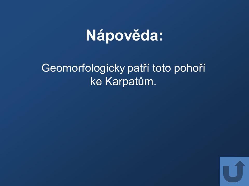 Nápověda: V podhůří těchto hor leží Valašsko.