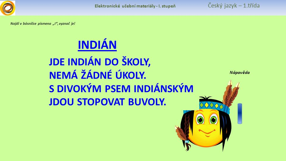 Elektronické učební materiály - I.