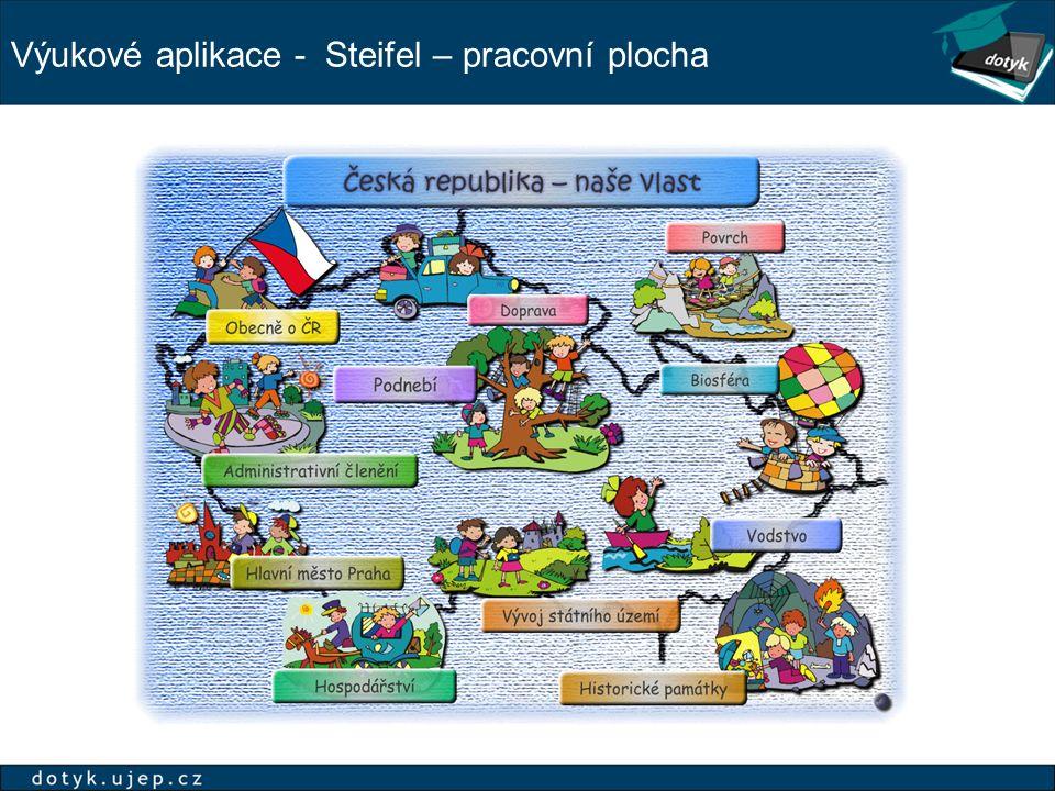 Výukové aplikace - Steifel – pracovní plocha