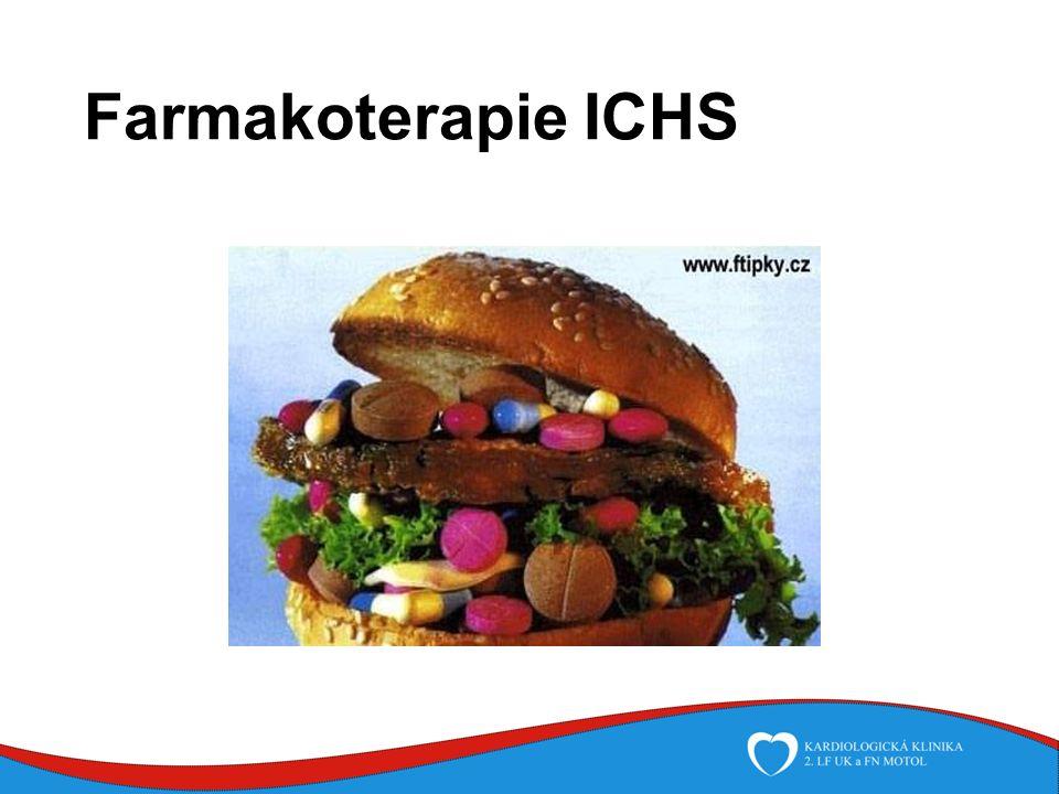 Nemocniční fáze Antiagregační léčba při PCI: antagonisté IIb/IIIa receptorů - inhibice vazby fibrinogenu na receptor IIb/IIIa abciximab (ReoPro) - bolus 0,25 miligramů na kg, dále 0,125 mikrogramů na kg/min do maxima 10 mikrogramů /minutu, i.v., i.a., i.c.