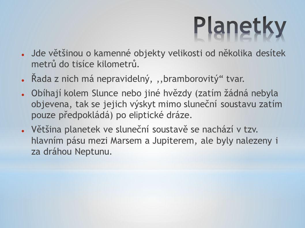 Pravděpodobně nejznámější trpasličí planeta Pluto patřila až do roku 2006 mezi planety.