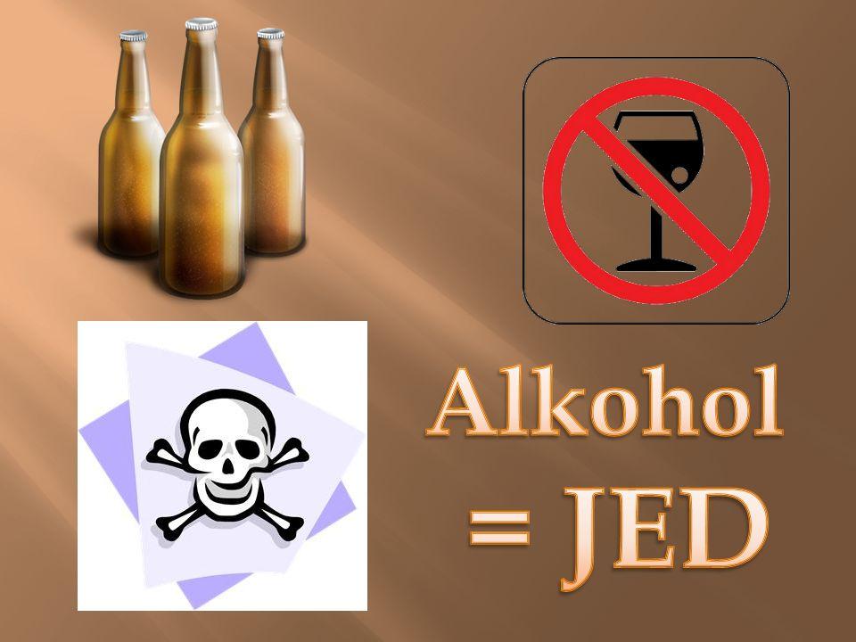 Alkohol se vyznačuje různě vysokým obsahem ethanolu.