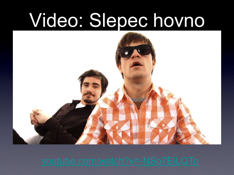 Video: Technika některým lidem život zpříjemňuje, jiným umožňuje youtube.com/watch v=VWFm7MMelw4