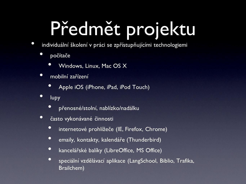 Průběh školení kontaktkontaktdotazníkdotazník 1. část (analýza) 2.