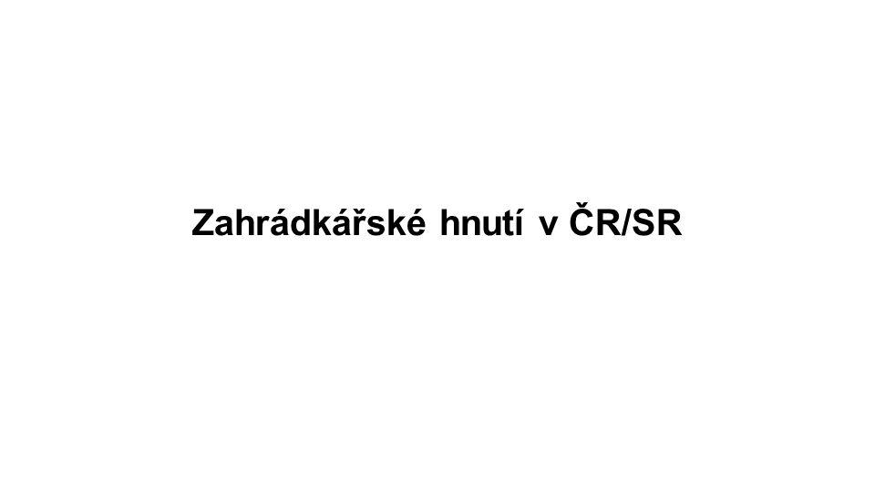 Zahrádkářské hnutí v ČR/SR