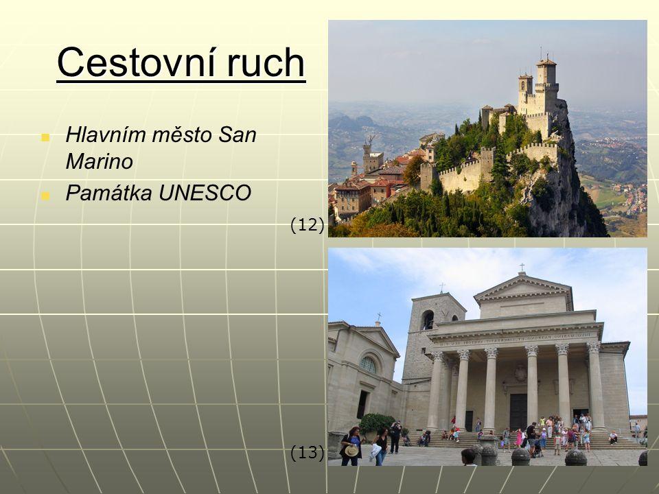 Cestovní ruch Hlavním město San Marino Památka UNESCO (12) (13)