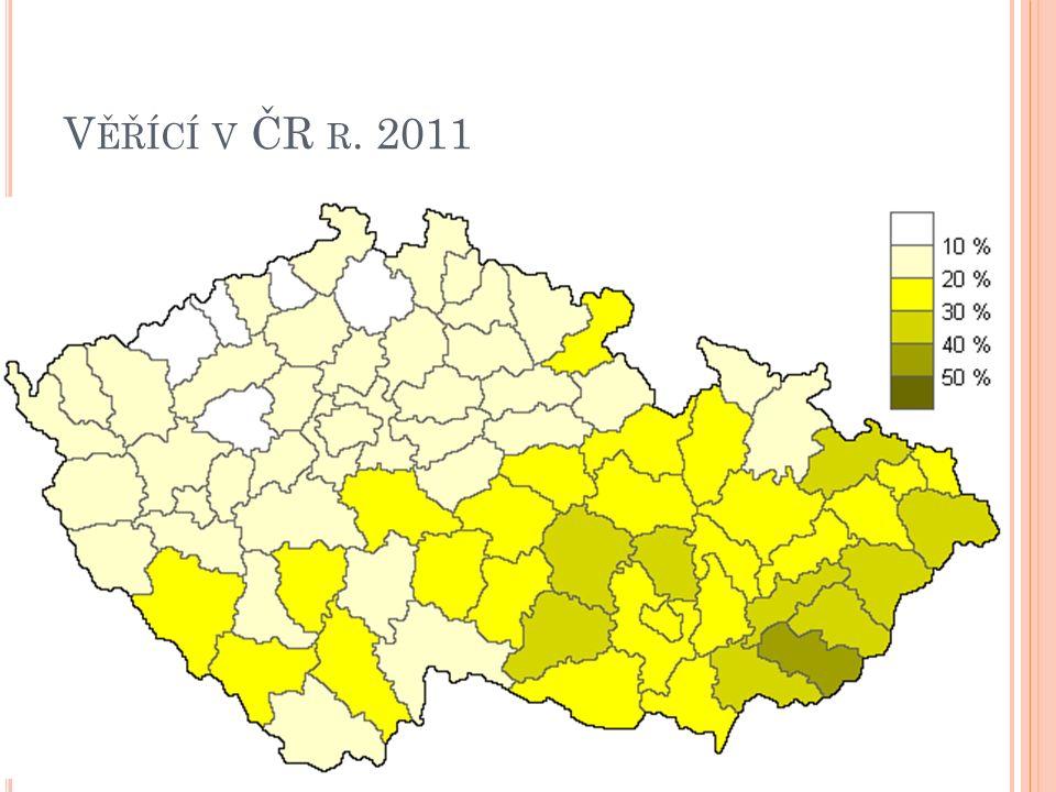 V ĚŘÍCÍ V ČR R. 2011