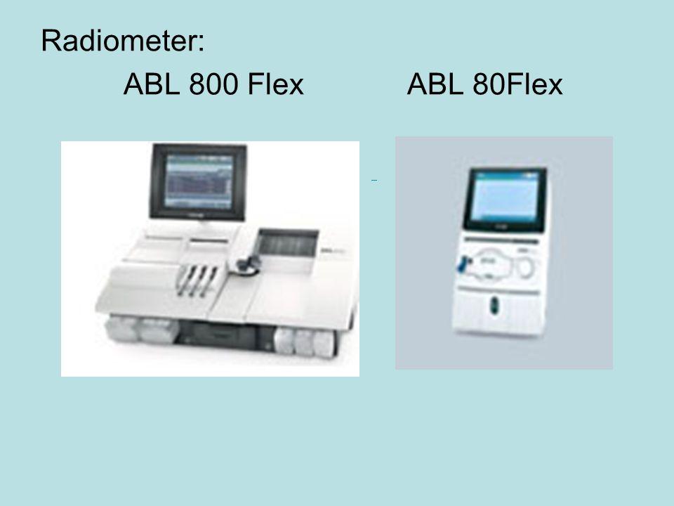 Radiometer: ABL 800 Flex ABL 80Flex ABL800 FLEX ABL80 FL E X