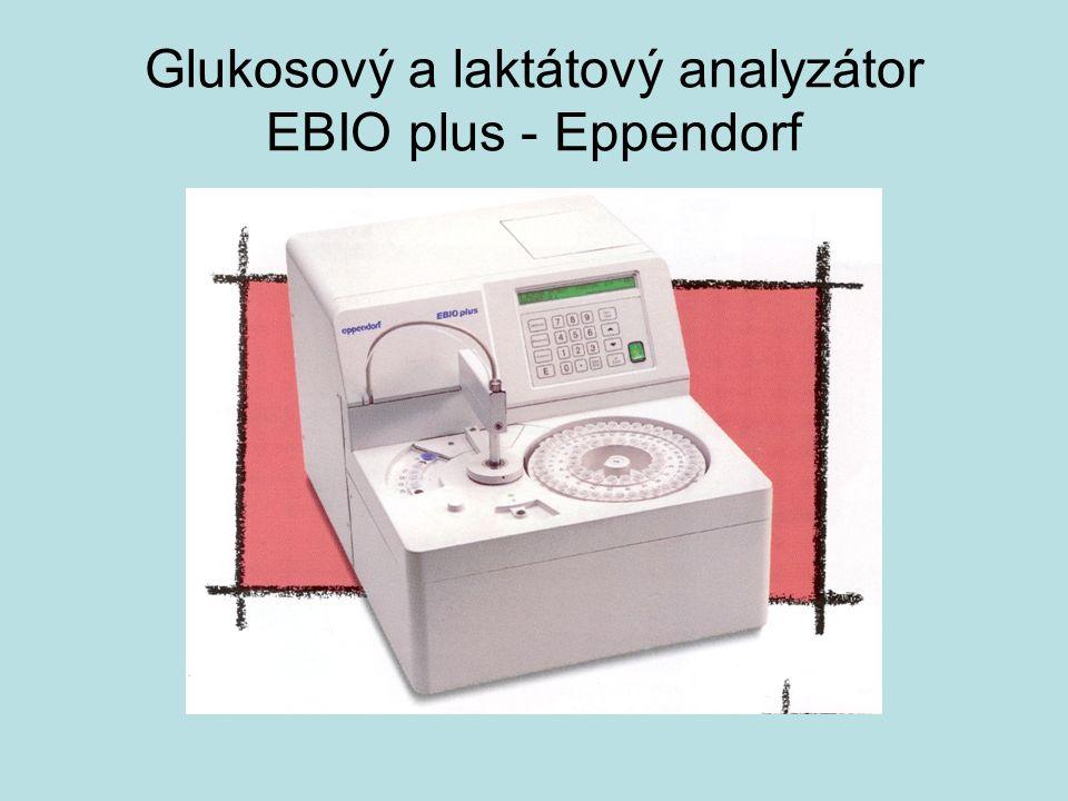 Glukosový a laktátový analyzátor EBIO plus - Eppendorf
