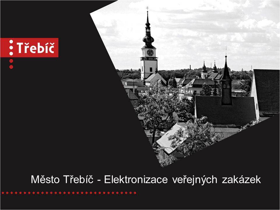 Město Třebíč - Elektronizace veřejných zakázek