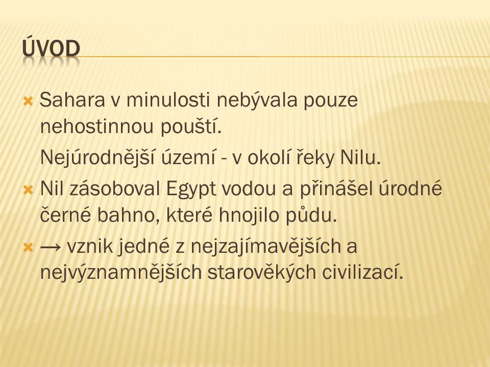  Znalosti obyvatelé Egypta pravděpodobně čerpali z Mezopotámie.