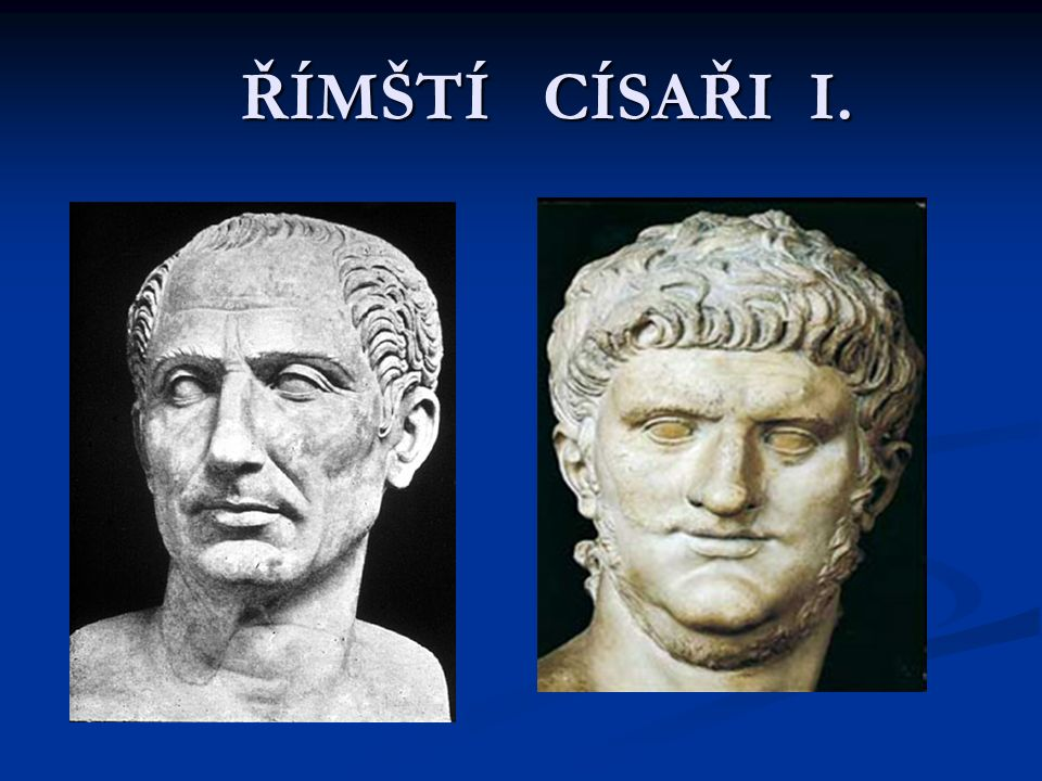 Gaius Julius CAESAR 100 př.n.l. 44 př. n. l.