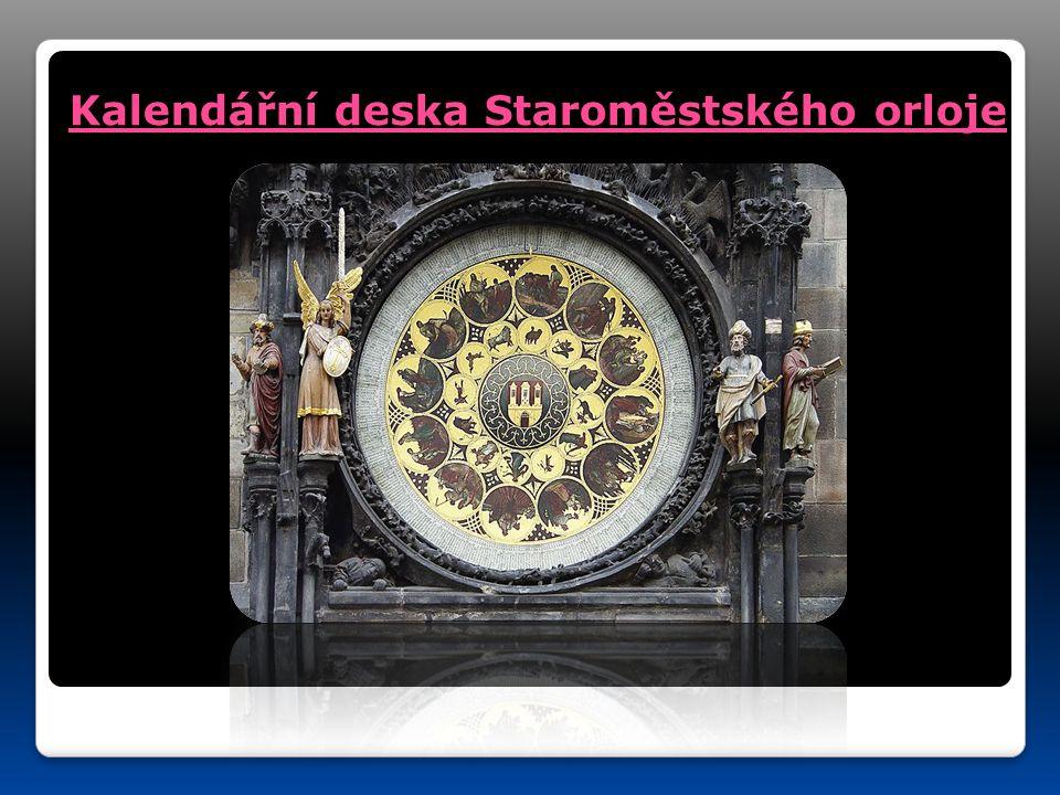 Kalendářní deska Staroměstského orloje