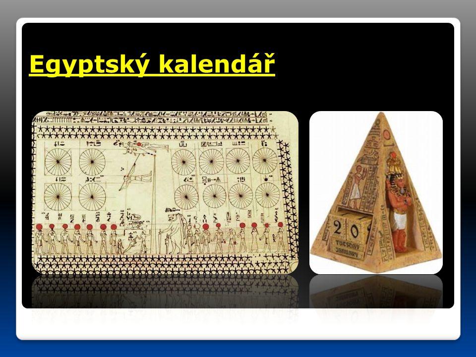 Egyptský kalendář
