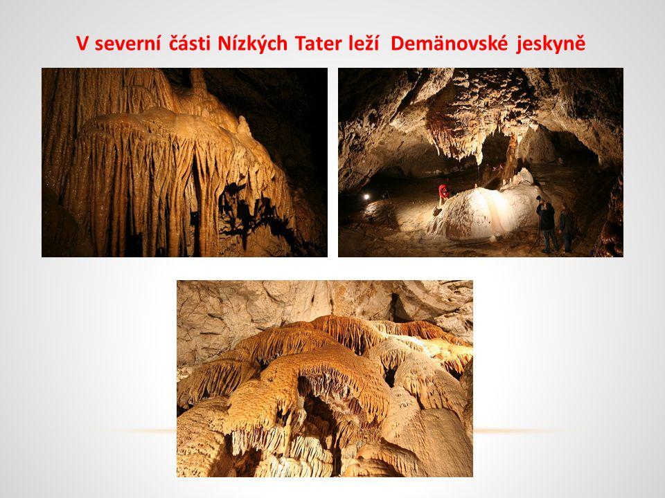 V severní části Nízkých Tater leží Demänovské jeskyně