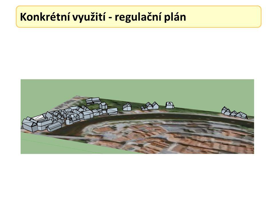 Konkrétní využití - regulační plán