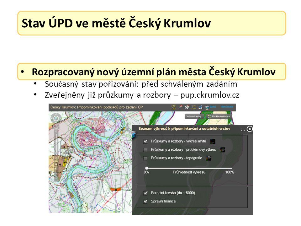Vydané regulační plány města Český Krumlov: Změna č.