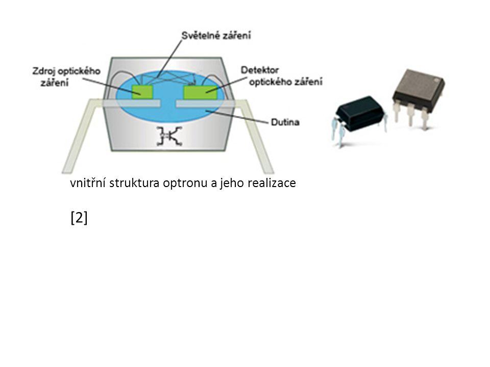 vnitřní struktura optronu a jeho realizace [2]