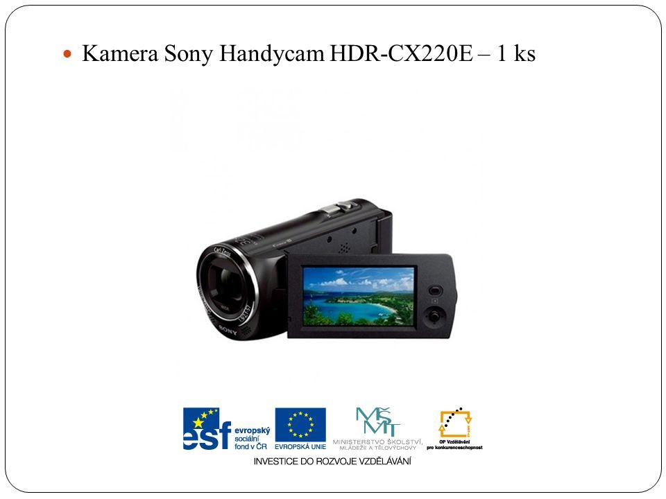 Kamera Sony Handycam HDR-CX220E – 1 ks