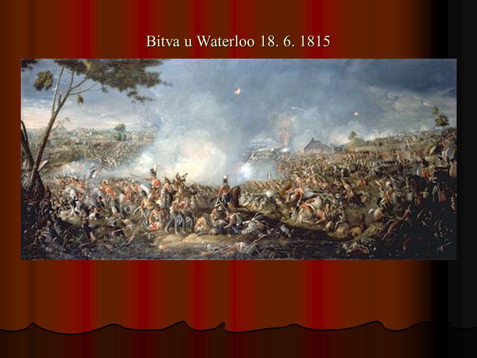 Bitva u Waterloo 18. 6. 1815