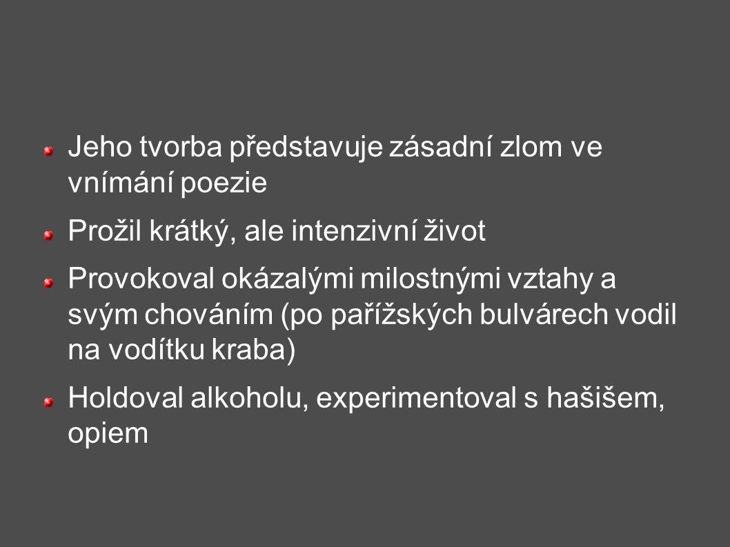 Opilý koráb www.prokletibasnici.webnode.cz/basne/ http://files.prokletibasnici.webnode.cz/200000012 -ec2bbed25a/01- Opil%C3%BD%20kor%C3%A1b.pdf