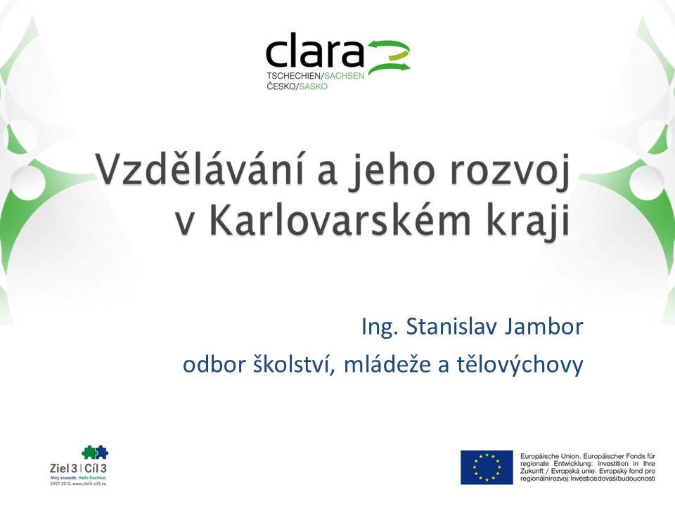 Ing. Stanislav Jambor odbor školství, mládeže a tělovýchovy