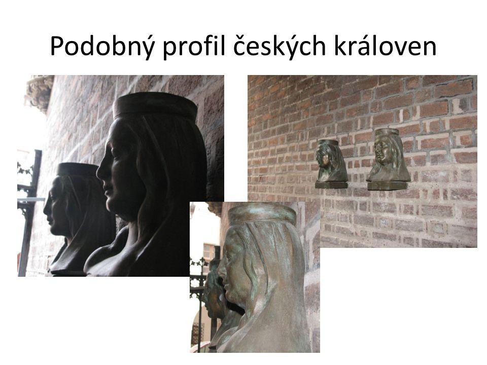 Podobný profil českých královen