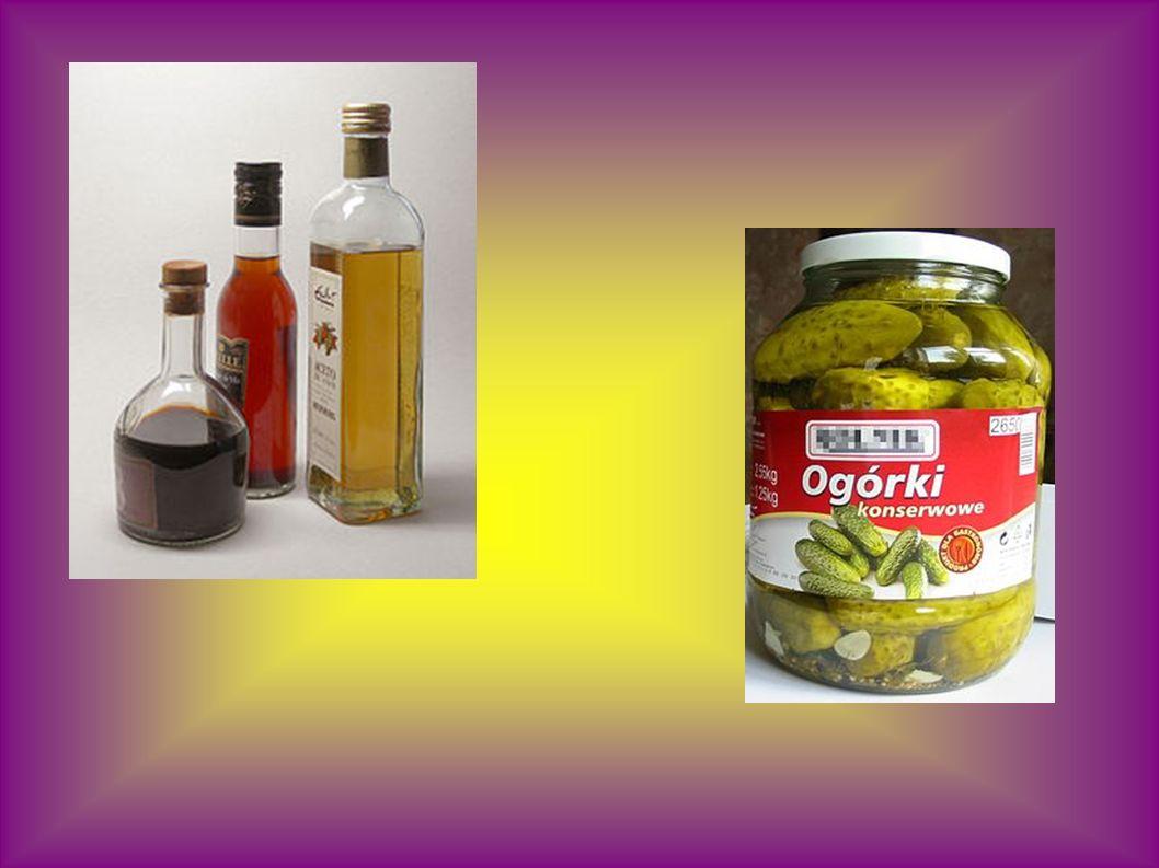 Přiřaď: Kyselina octová Kyselina mléčná Kyselina vinná Kyselina citrónová