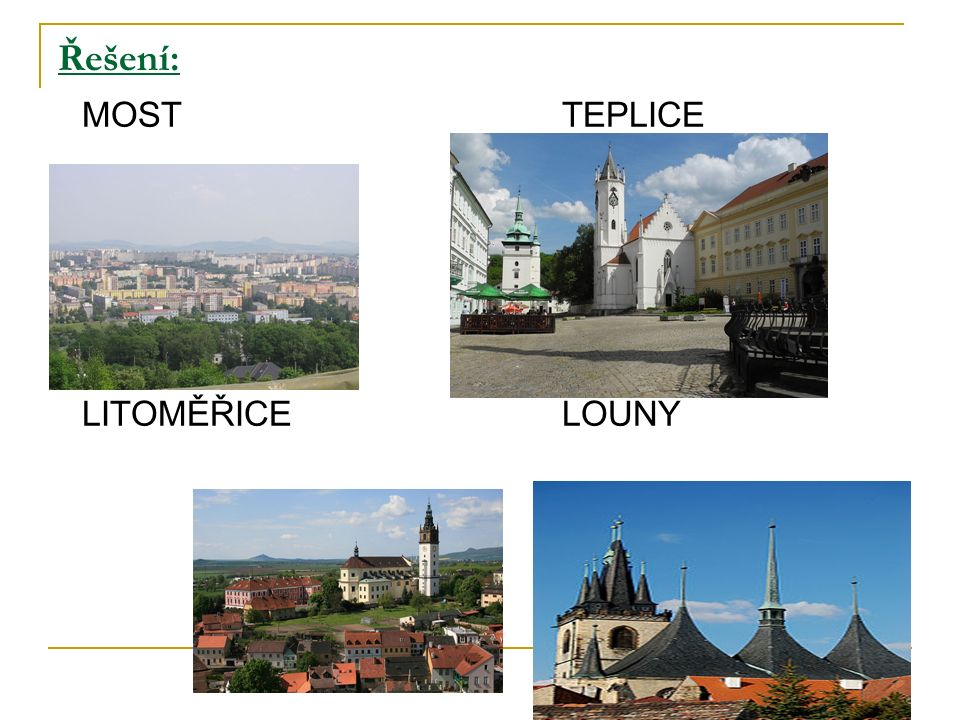 Zajímavosti z kraje:  Pamětihodnosti: pevnost Terezín – pojmenovaná po císařovně Marii Terezii, za 2.
