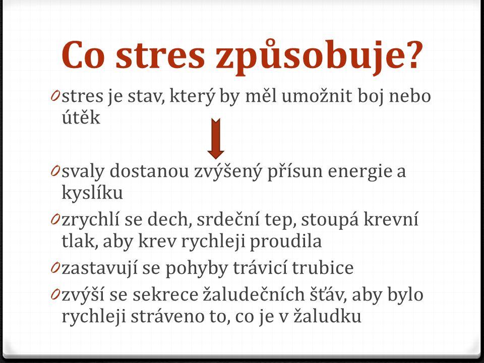 Co stres způsobuje.