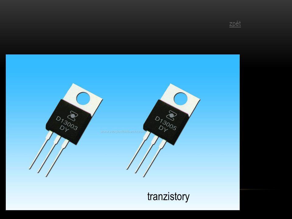 tranzistory zpět
