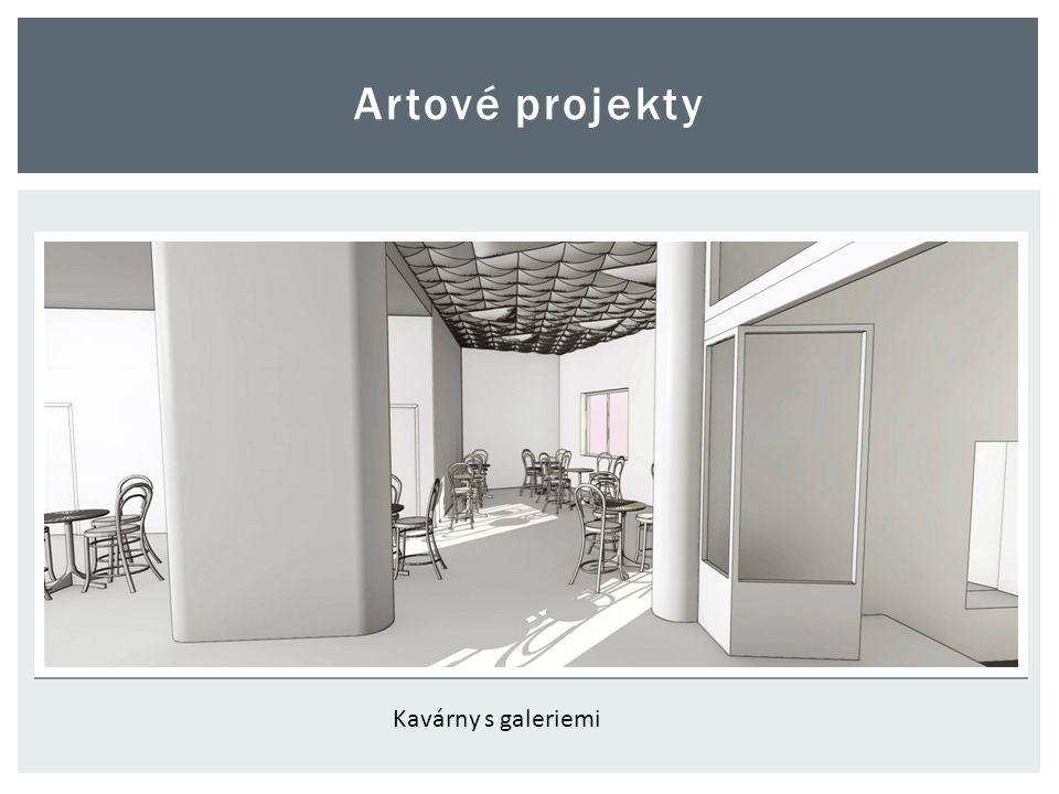 Artové projekty Kavárny s galeriemi