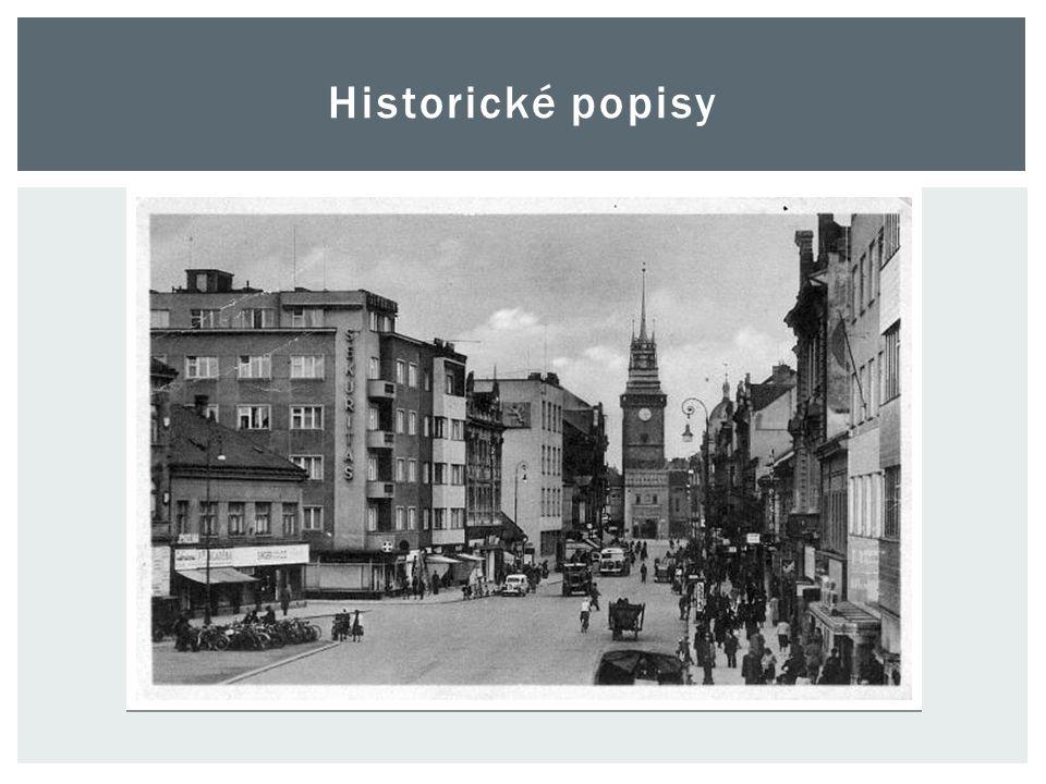 Historické popisy