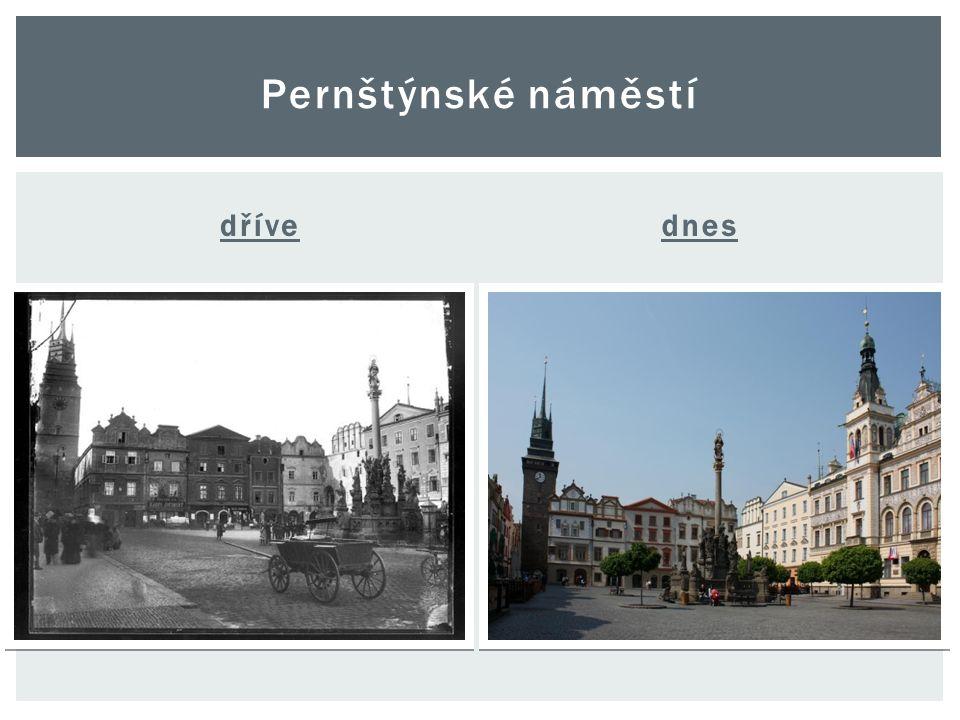dřívednes Pernštýnské náměstí