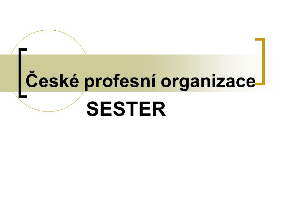 České profesní organizace SESTER