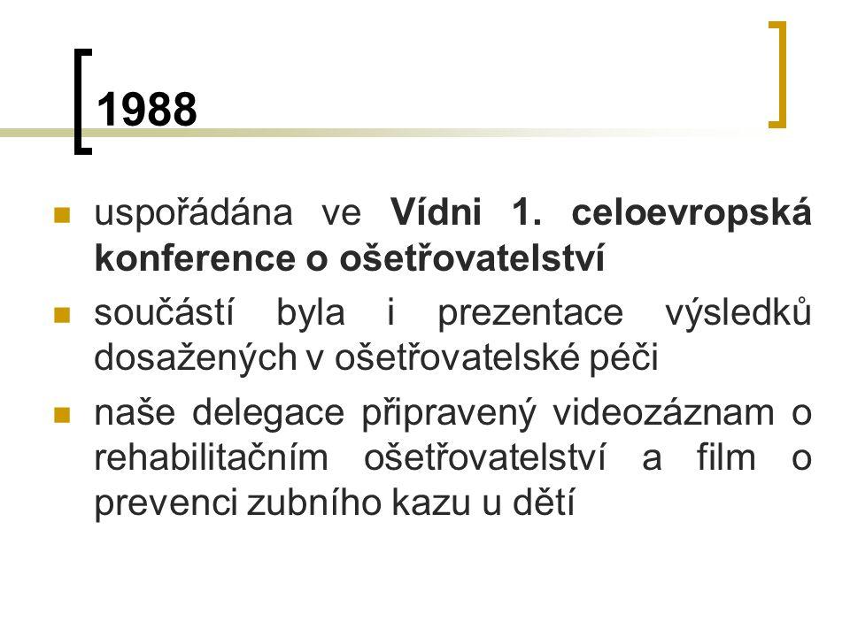 1988 uspořádána ve Vídni 1.
