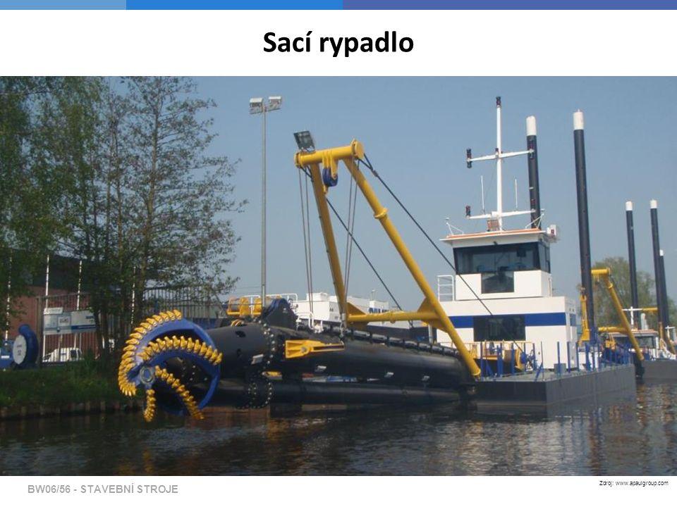 BW06/56 - STAVEBNÍ STROJE Sací rypadlo Zdroj: www.apaulgroup.com