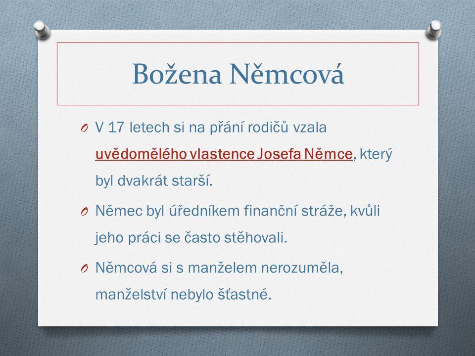 O V pražské vlastenecké společnosti se spřátelila s význačnými spisovateli a vzdělanci.