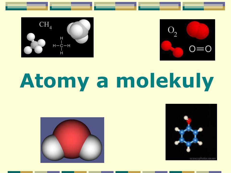 Atomy a molekuly