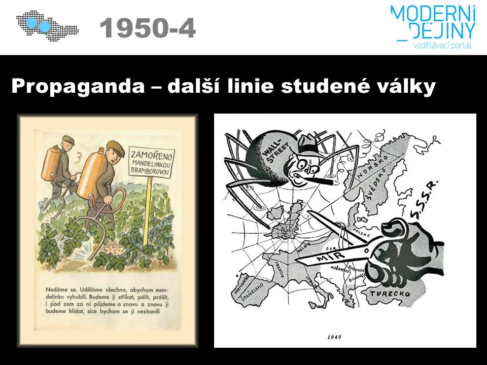 1950 1950-4 Propaganda – další linie studené války